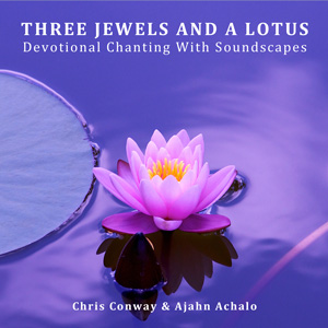 Conway Achalo Three Jewels And A Lotus
