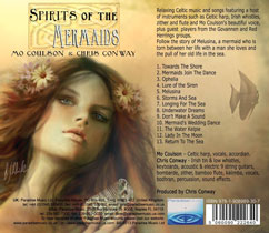 cd Spirits of the Mermaid back