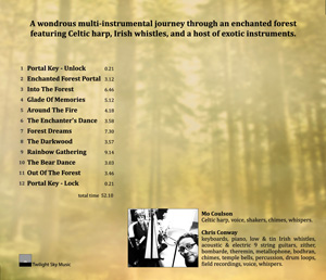 Mo Coulson & Chris Conway The Enchanted Forest - back